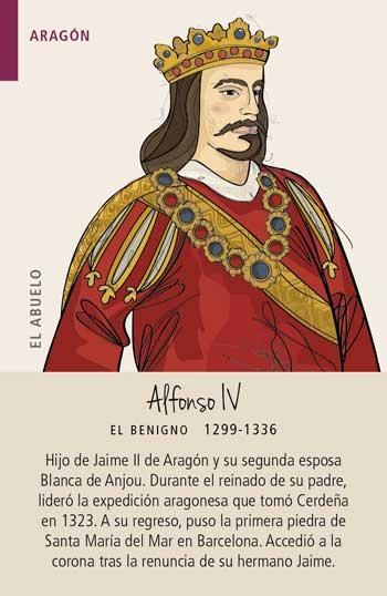 Baraja Familias Reales de Aragón