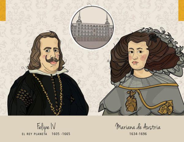 Felipe IV – Mariana de Austria