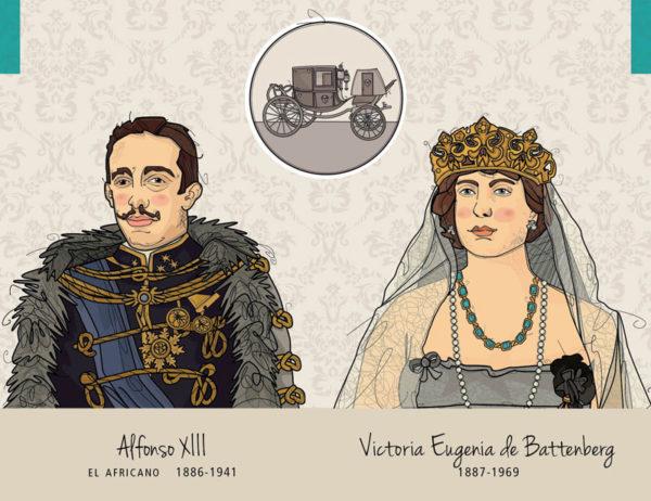 Alfonso XIII – Victoria Eugenia de Battenberg