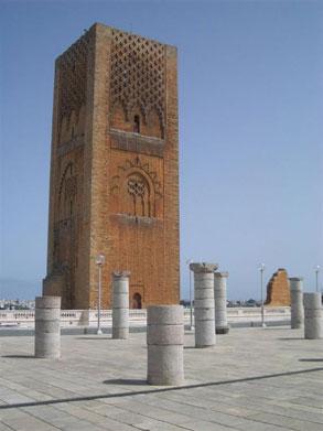 Torre Hassam en Rabat