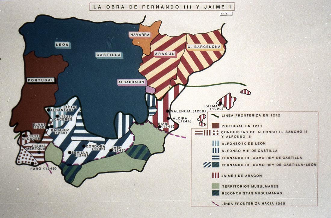 Península Ibérica siglo XIII